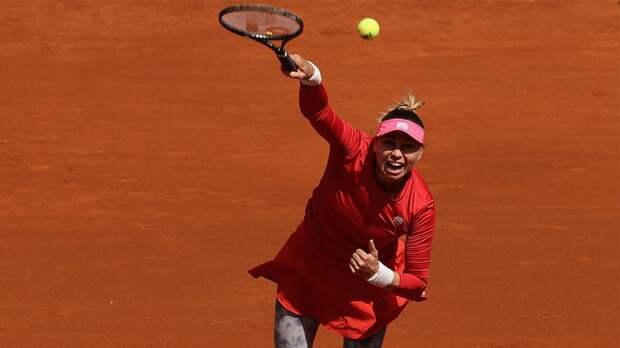 Звонарева и Бабош вышли в полуфинал турнира в Белграде в парном разряде