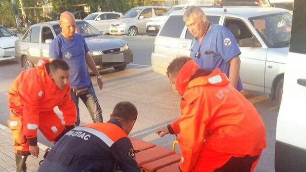 В Крыму мужчина упал с моста
