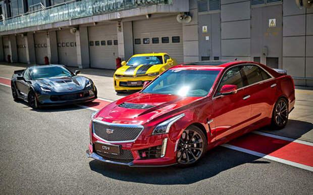 1546 «лошадей» на троих: испытываем самые мощные Chevrolet и Cadillac