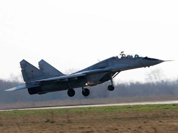 В Болгарии в ходе учений рухнул в море истребитель МиГ-29