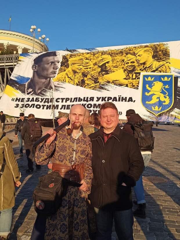Марш дивизии СС «Галичина» в Киеве: И снова Путин виноват!