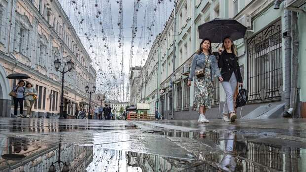 Синоптики спрогнозировали «великую сушь» в Москве в ближайшую неделю