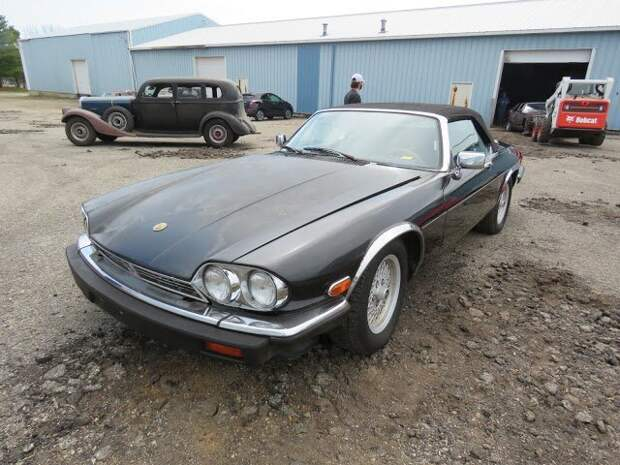 1989 Jaguar XJS Convertible Вот это ДА, винтажные авто, гоночные автомобили, интересно, коллекция авто, коллекция автомобилей, мотоциклы, раритетные автомобили