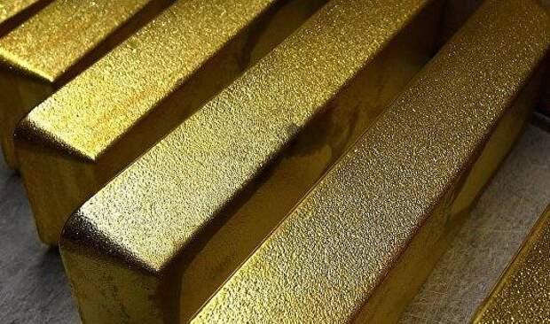 Золото дорожает на снижении курса доллара