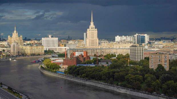 В Москве выпадет град