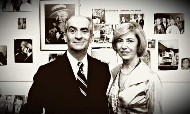 Луи де Фюнес и его жена Жанна. Из открытых источников интернета