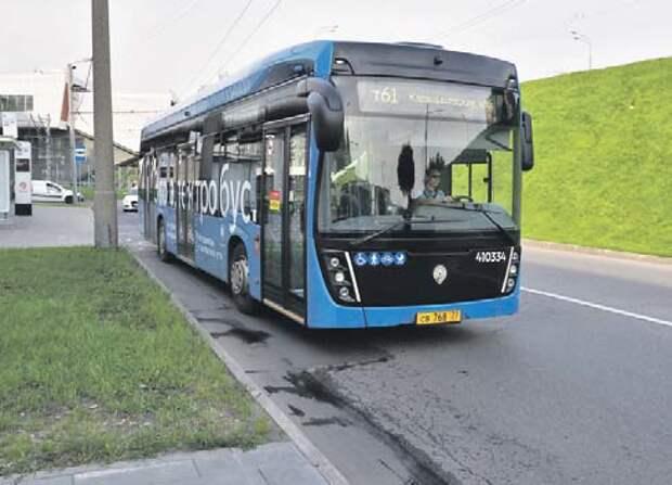 Автобусы на аккумуляторных батареях ездят уже по двум маршрутам округа/ Ольга Чумаченко