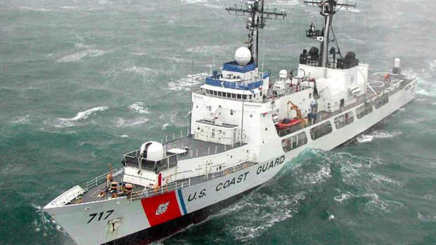 Сторожевой корабль США Hamilton покинул Черное море
