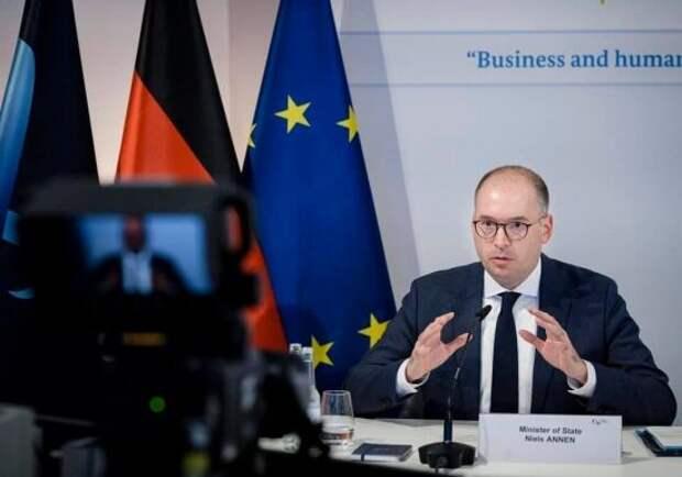 МИД Германии раскритиковал США из-за возможных санкций против «Севпотока-2»