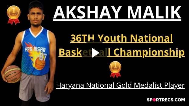 Akshay Malik: Top Basketball player from INDIA