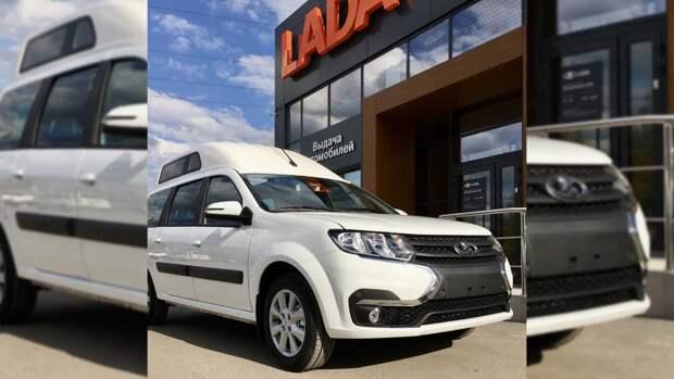 Две новые модификации Lada Largus появятся на российском рынке