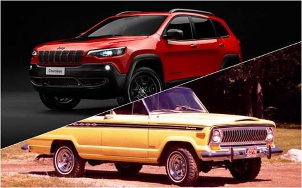 Как менялся Jeep Cherokee: из внедорожника в кроссоверы