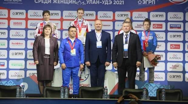 Вероника Гурская изСимферополя — чемпионка России по женской борьбе
