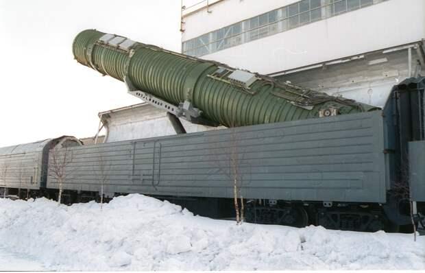 «Ядерные призраки» возвращаются: БЖРК «Баргузин» прибудет по расписанию