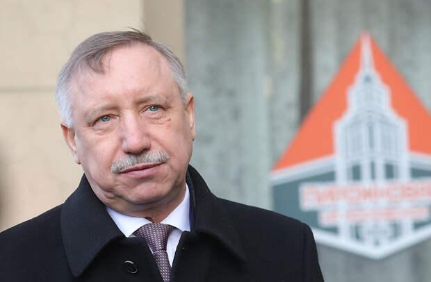 Губернатор Петербурга Александр Беглов