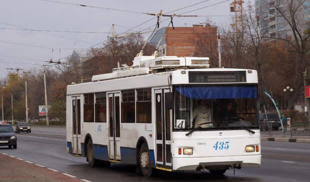 Два троллейбуса изменят маршрут в Петрозаводске