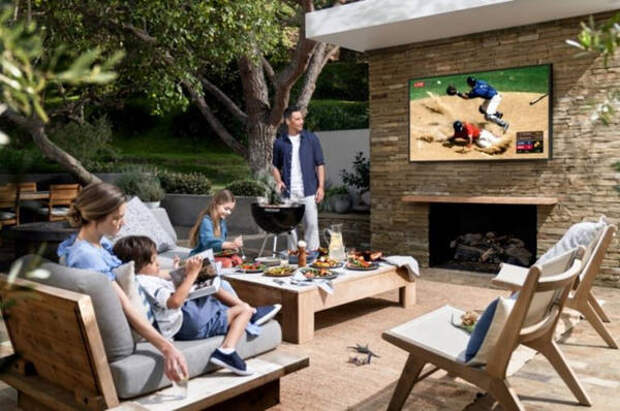 Samsung объявляет о старте продаж нового интерьерного телевизора The Terrace