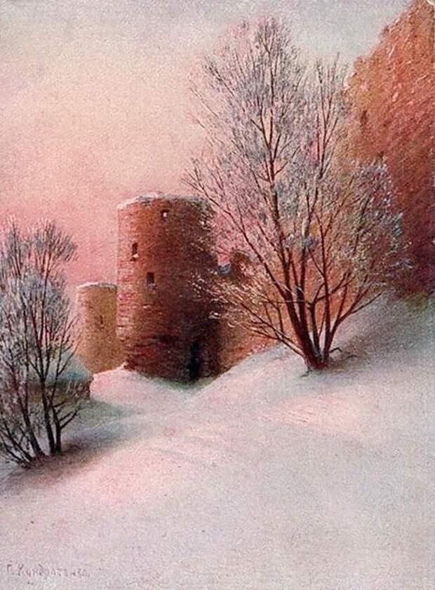 Копорская крепость.