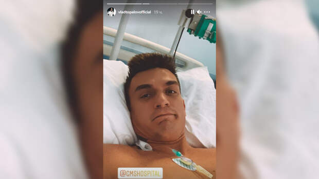 Влад Топалов оказался под капельницами после госпитализации Тодоренко