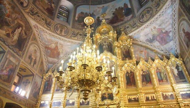 Жители Подольска смогут посмотреть службы в Троицком соборе онлайн