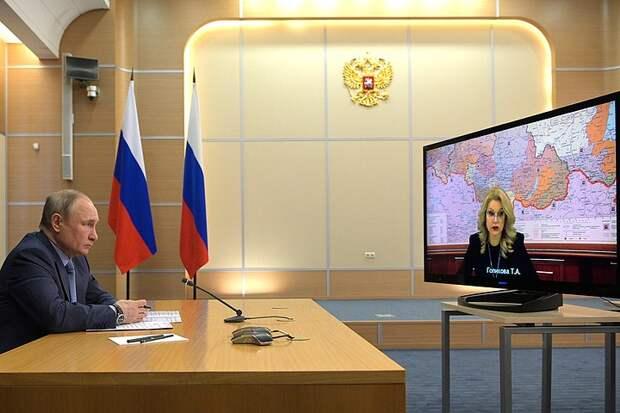 Владимир Путин сравнил «Спутник V» с автоматом Калашникова