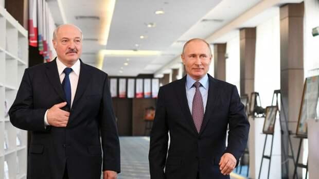 """Лукашенко — Путину: """"Вы поступили очень порядочно, по-человечески, вас лично благодарю"""""""