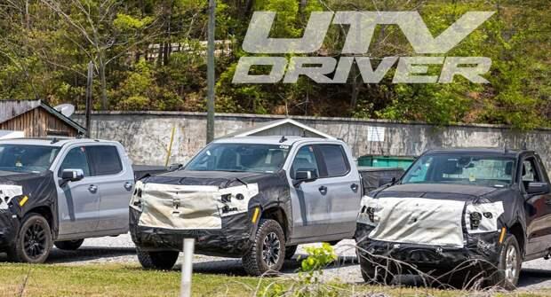 Обновлённому пикапу Chevrolet Silverado 2022 года устроили тест-драйв в горах