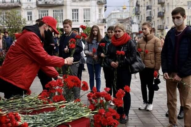 В казанских цветочных магазинах закончились гвоздики