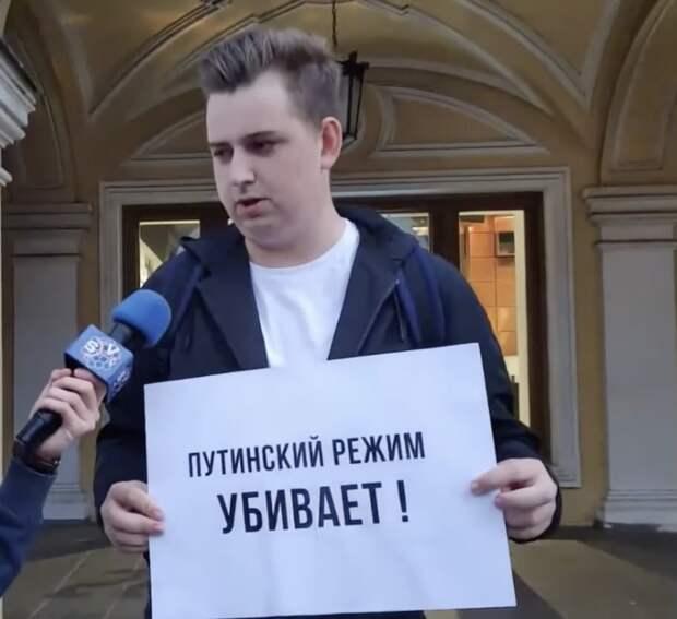 Ещё один малыш, который голодает из-за Путина