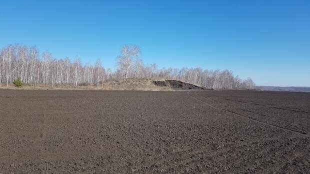 ВКурганской области варвары разрушили древний курган