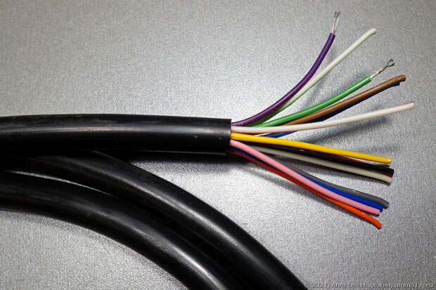 Кабель МКШ - до 14 проводов на сетевую нагрузку