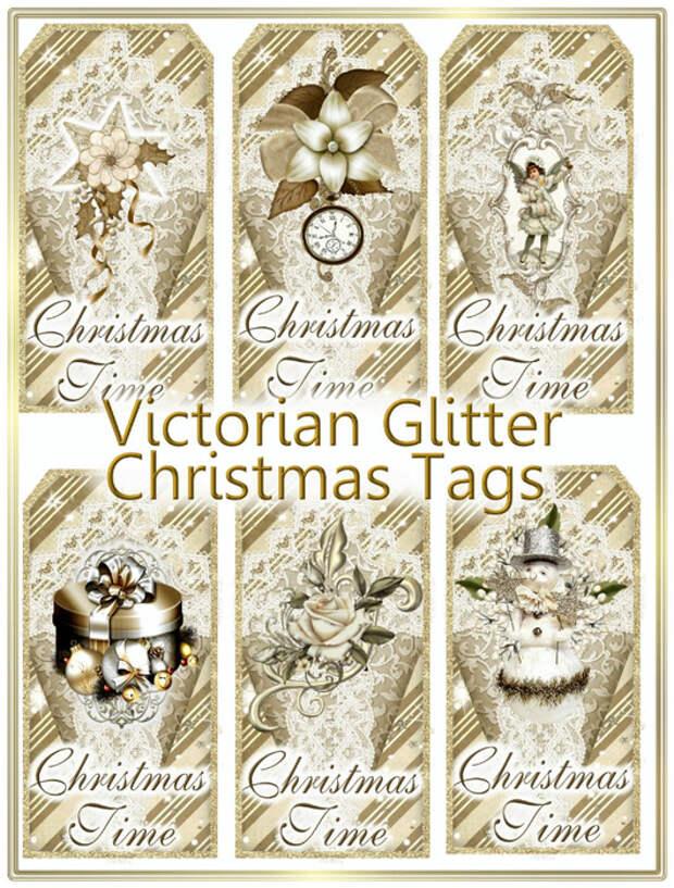 Victorian_Glitter_Christmas_Tags_Sample (530x700, 522Kb)