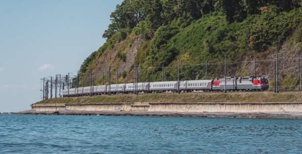 Дополнительные поезда запустят в Крым из крупнейших городов РФ