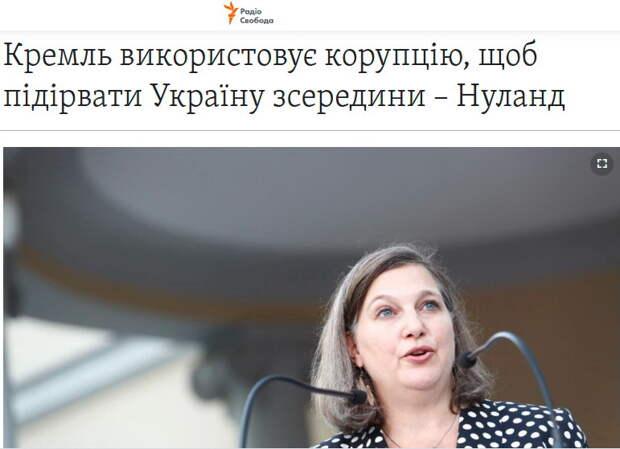 «Это все Путин». Киевский журналист поднял на смех Викторию Нуланд