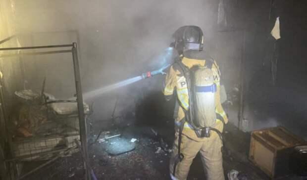 В Екатеринбурге из-за пожара были эвакуированы 52 человека и трое пострадали