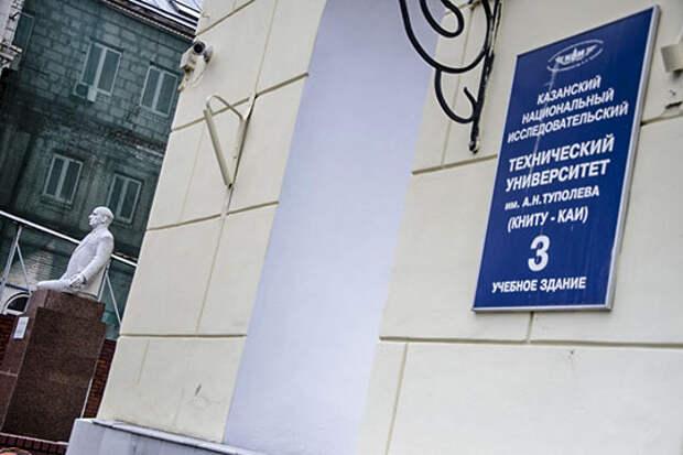 Экономические полицейские провели обыски на кафедре автоматики КНИТУ-КАИ, изъяли много документации, а потом «прихватили» на допрос ряд сотрудников