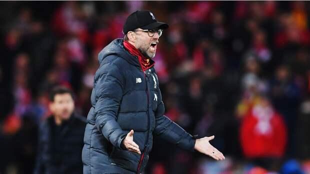 Клопп: «Поражение от «Бернли» — настоящий удар в лицо. Сейчас «Ливерпуль» и не думает о чемпионской гонке в АПЛ»