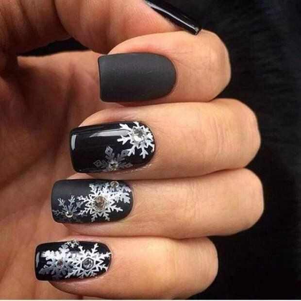 Секреты красоты. Зима на кончиках пальцев