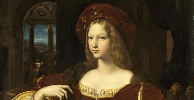 девушка из средневековья