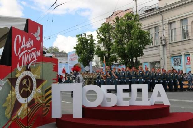 Спасатели МЧС России приняли участие в параде Победы