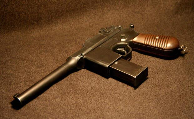 Маузер: немецкий пистолет Красной Армии