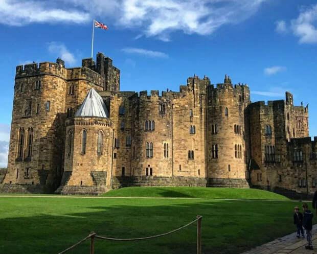 Замок Алник – старинная резиденция герцогов Нортумберлендских