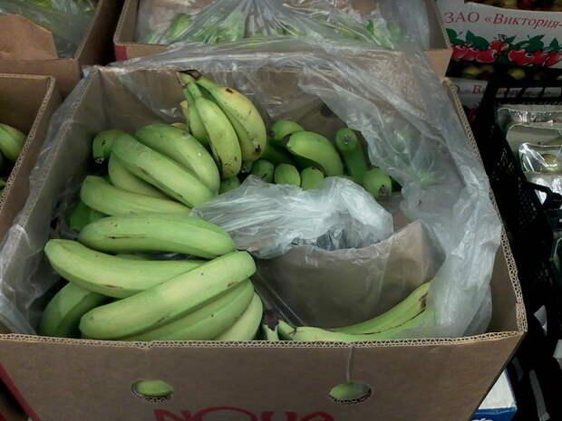 Бананы в СССР, как это было