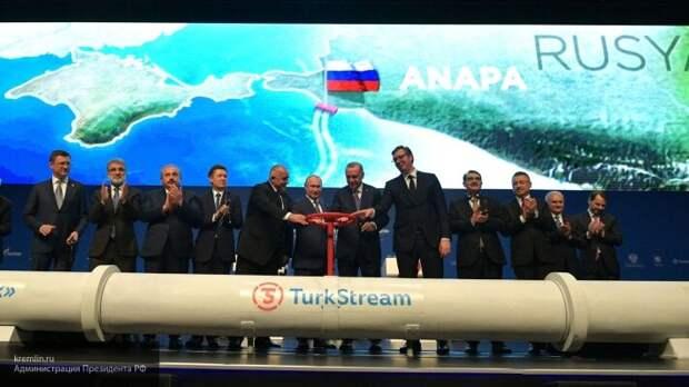 Юшков объяснил, почему «Газпром» отказался поставлять газ в Турцию по «Голубому потоку»