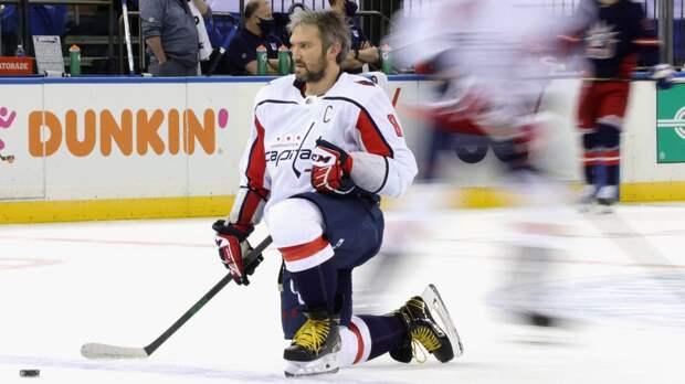Овечкин — о выходе на 7-е место в списке лучших снайперов НХЛ: «Здорово двигаться дальше»