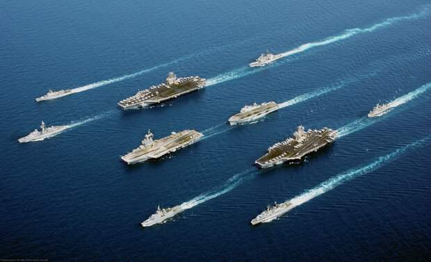 Может ли ВМФ России бороться с авианосными ударными группами?
