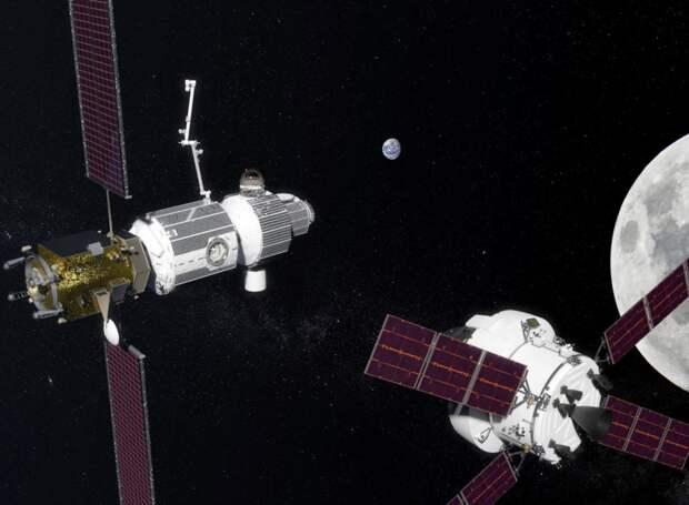 Лунные врата в далекий космос