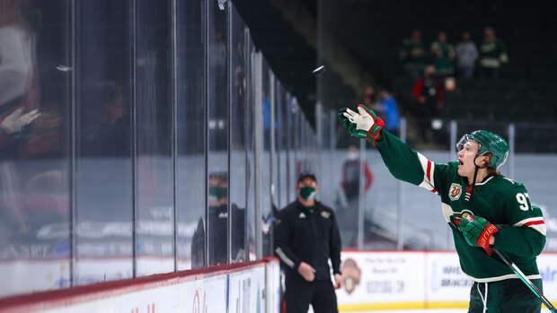 Капризов обновил личный рекорд по результативной серии в НХЛ