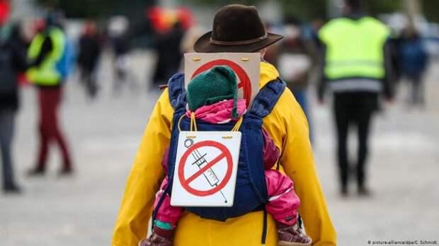 Kurier: Отказ отвакцинации вЕвропе связан сполитической ориентацией