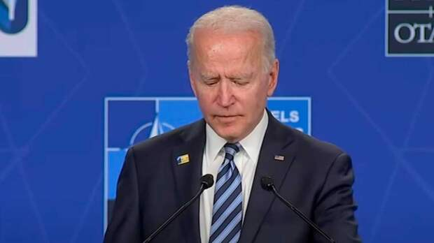 Пресс-коференция Байдена после саммита НАТО разозлила западных зрителей